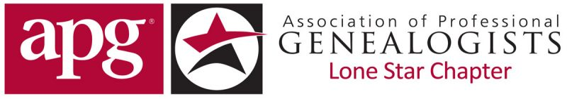 Lonestar Chapter, Association of Professional Genealogists